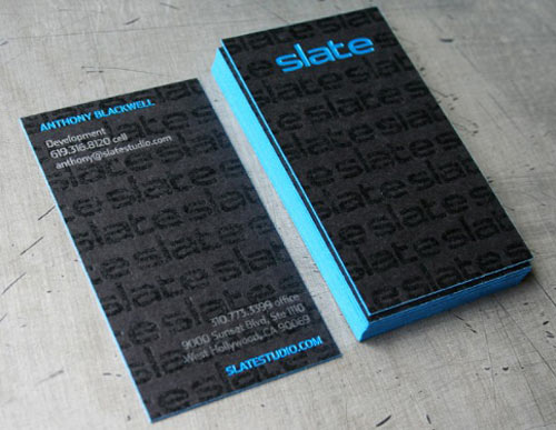 Slate Studio Business Cards