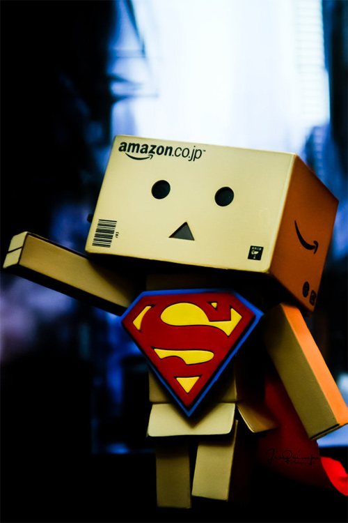 Superman superhero danbo photography cute