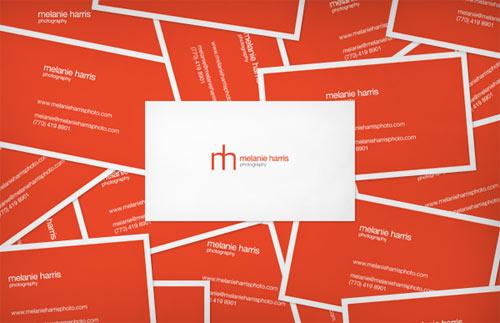 Melanie Harris Photography Business Card