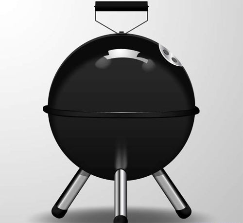Create a Barbecue Picnic Icon in Adobe Illustrator CS6