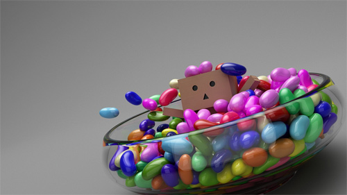 Candy bowl danbo photography cute