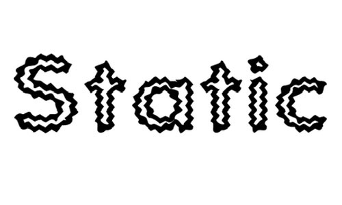 Static Charge font