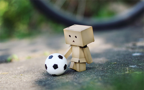 Football danbo photography cute