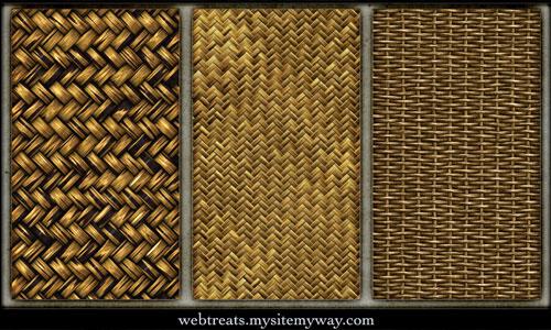 Basket Macro texture