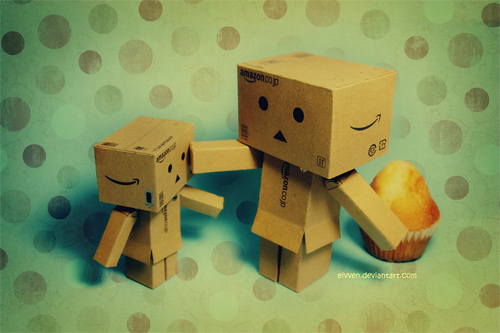 Cupcake mini danbo photography cute