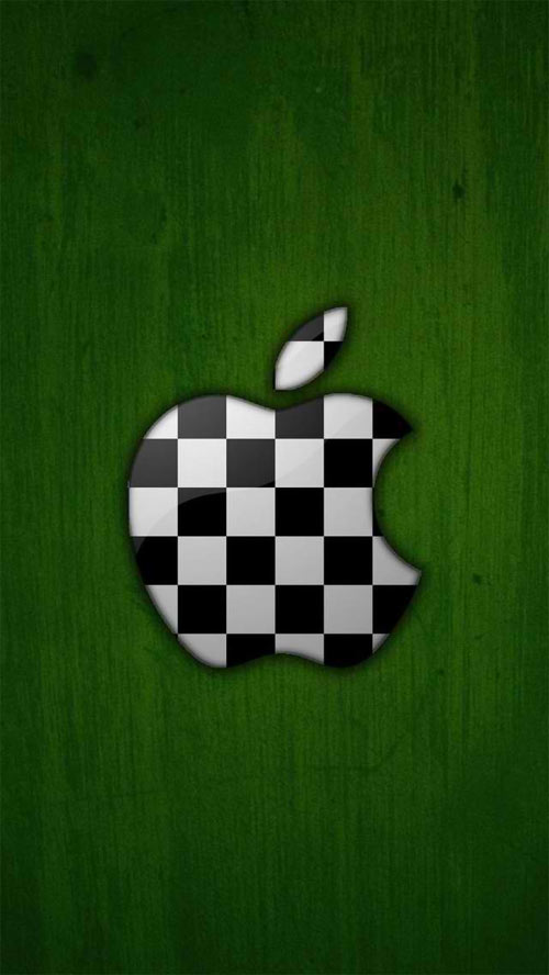 iPhone 5 Wallpaper Apple Logo 06