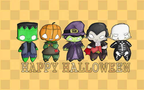 Happy Halloween everyone! wallpapers