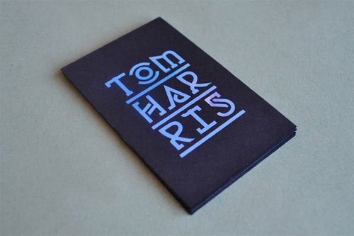 Business Card for: Tom Harris
