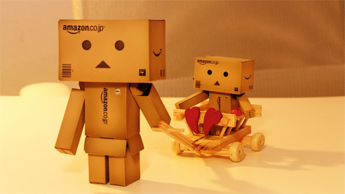 Cart mini danbo photography cute