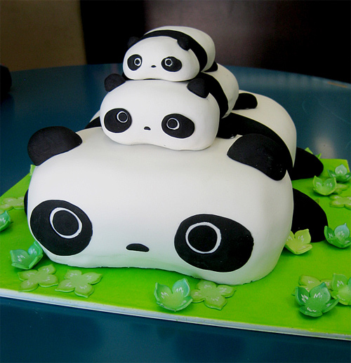Tare panda unusual cake design cool