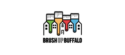 Brush Up Buffalo logo