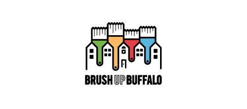 Brush Up Buffalo logo