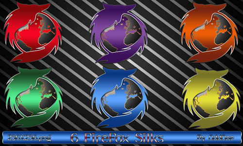 Firefox Silks icons