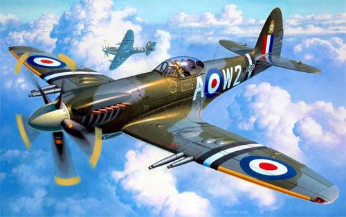 Spitfire Skies