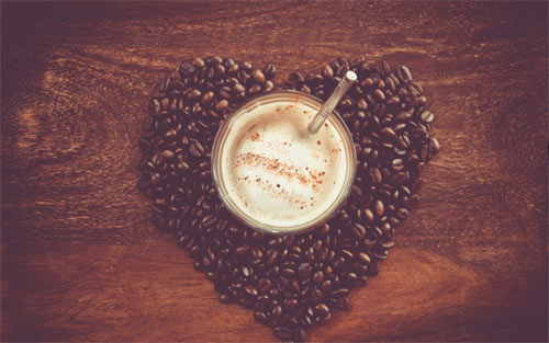 Coffee Heart wallpapers