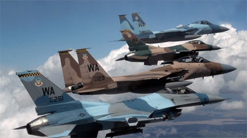 F18s and F16s wallpapers