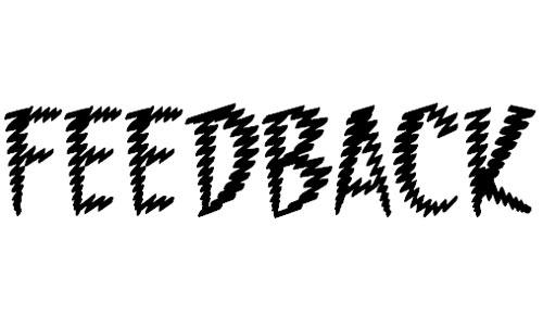 Feedback BB font