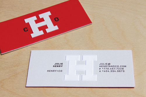 Business Card for: Henry and Company