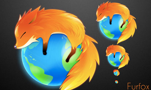 Furfox Around The Globe icons