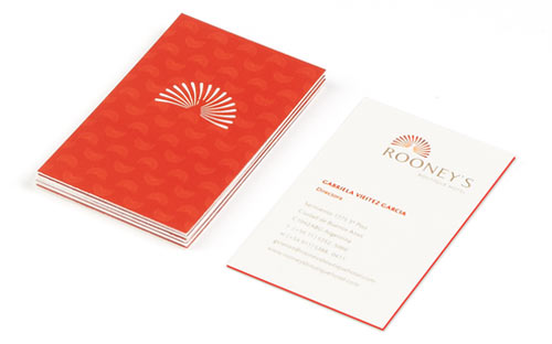 A new showcase of red business cards naldz graphics rooneys boutique hotel buenos aires business cards colourmoves Images