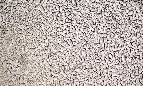 Little crack white mud texture