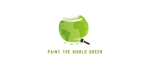 Paint the world logo