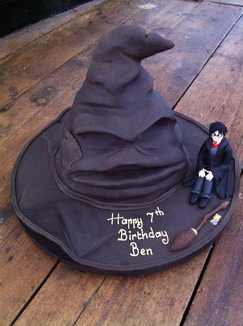 Harry potter sorting hat unusual cake design cool