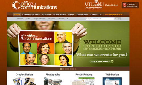 University of Texas Health- Office of Communications