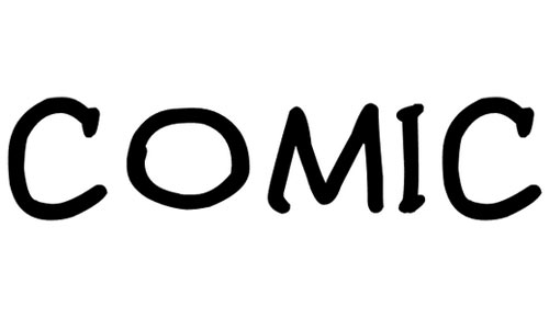 Comic Gibi font