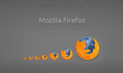 Firefox elementary icon