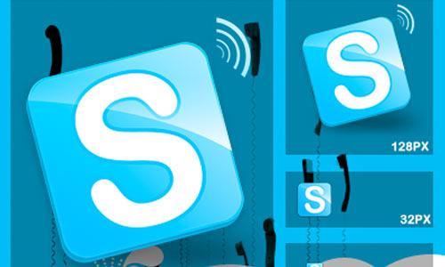 Skype Remix icons