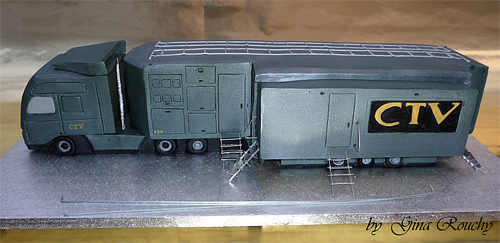 Truck vehicle ctv unusual cake design cool
