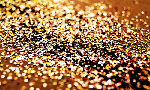 Gold shiny glitter texture high resolution