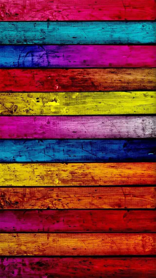 iPhone 5 Wallpaper Colorful 01