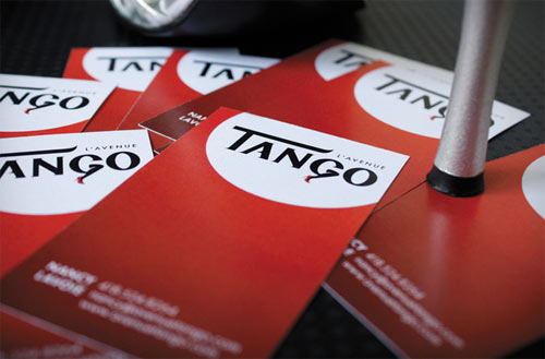 TANGO SCHOOL LOGO & BUSINESS CARD