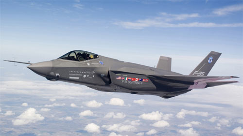 F 35 flying wallpapers