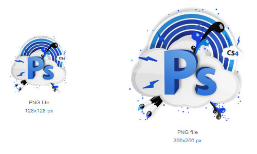 CS4 Photoshop Icon