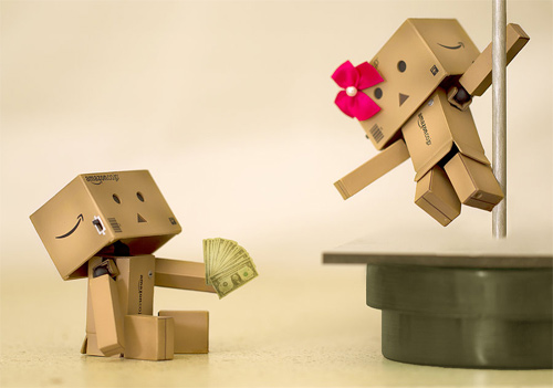 Strip club danbo photography cute