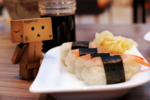 Sushi food danbo photography cute