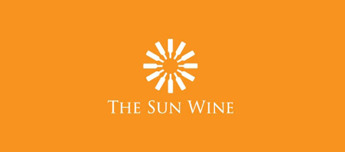 The Sun Wine logo