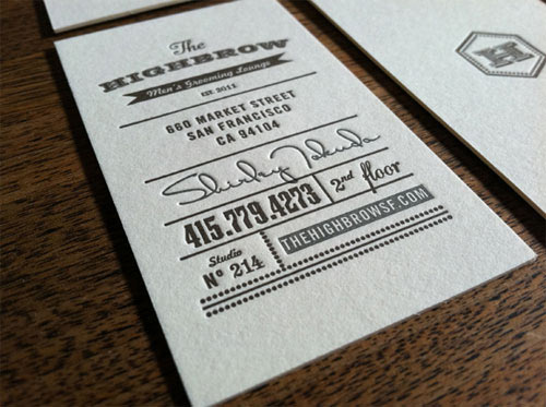 Business Card for: Highbrow Men's Grooming Lounge