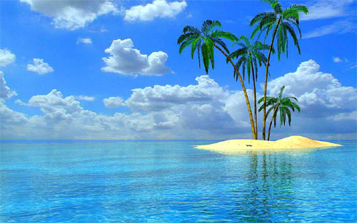 30 sensational island wallpaper for your desktop naldz for Paesaggi di primavera per desktop