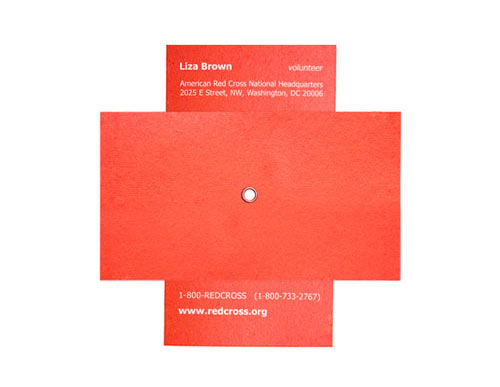 Business Card for: Red Cross