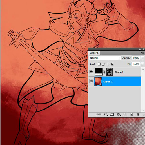 How to Use Brushes in Adobe Illustrator to Ink a Sketch