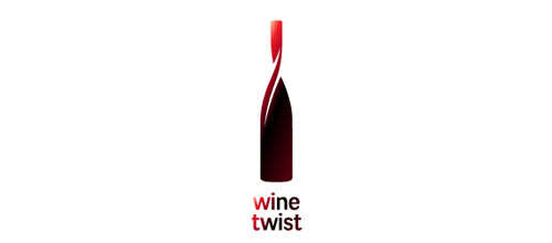 Wine twist logo