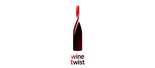 Wine twist logo