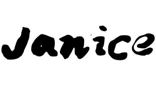 Janice Hand Ink font