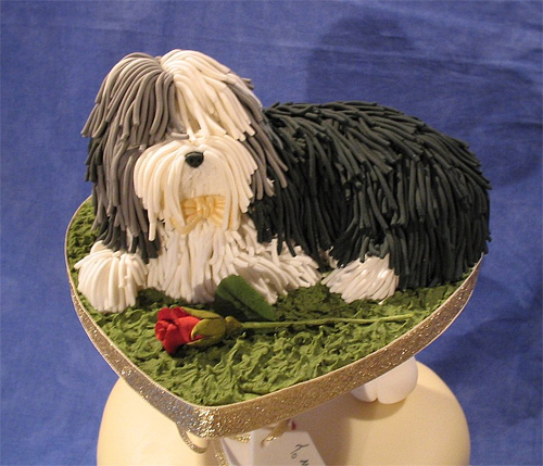 Cute dog unusual cake design cool