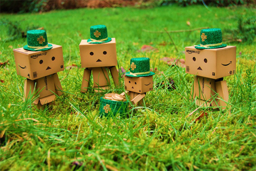 Leprechauns green danbo photography cute