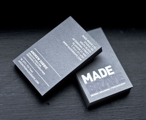 Business Card for: MadeBrave